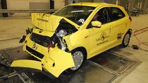 Ford Ka+ Euro NCAP test