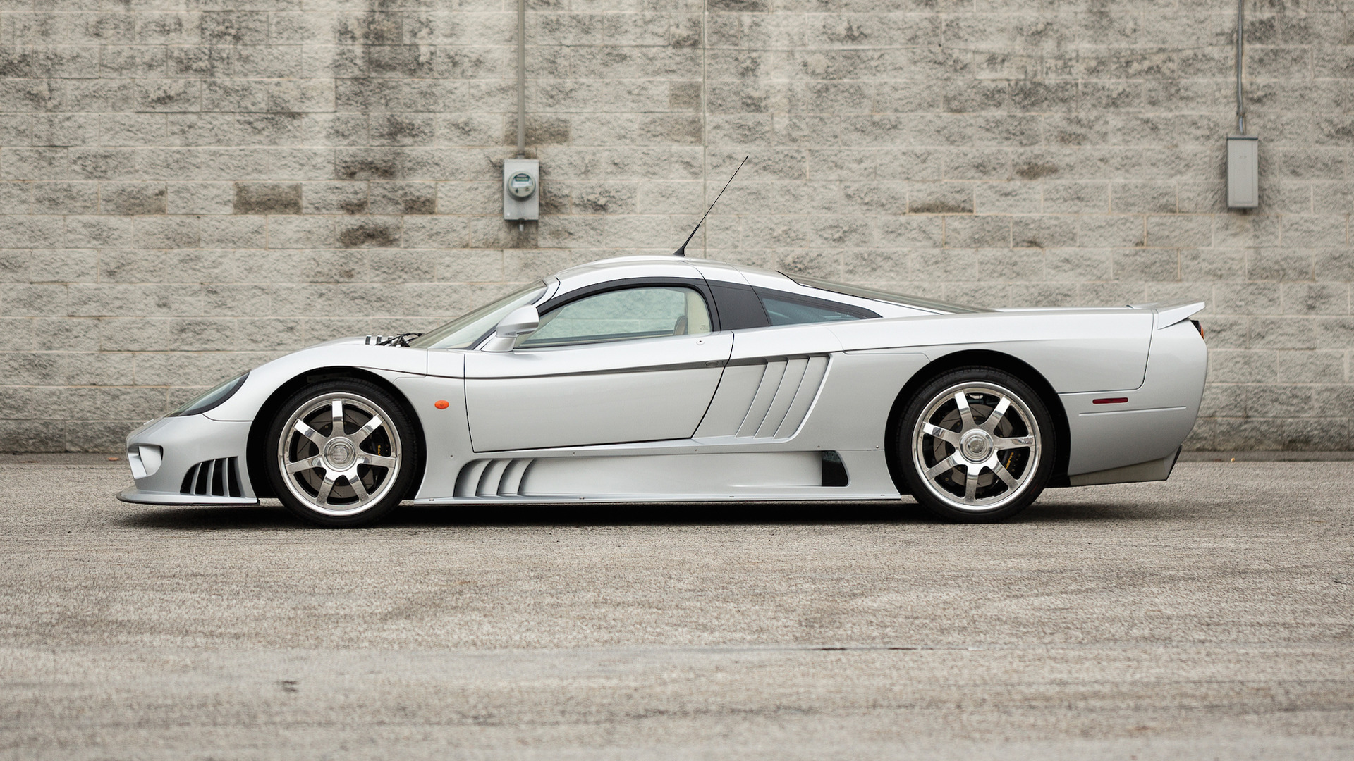Auction bound Saleen S7 is literally one of a kind 27 photos
