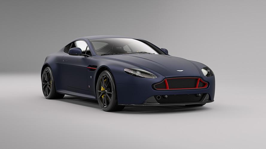 Aston Martin V8 ve V12 Vantage S Red Bull Racing versiyonları