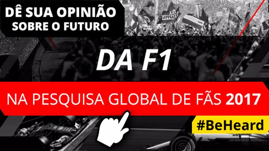 Motorsport Network lança nova Pesquisa Global de Fãs da F1