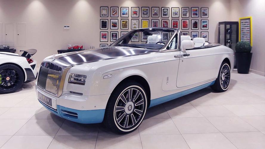 La toute dernière Rolls-Royce Phantom Drophead Coupé à vendre !