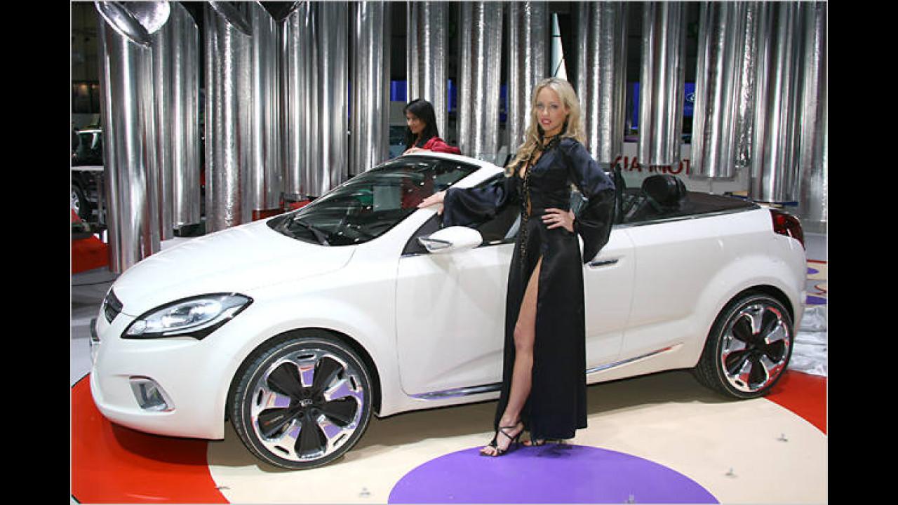 Der Kia Ex C'eed war 2007 als Studie zu sehen – hoffentlich wird das Cabrio auch tatsächlich gebaut