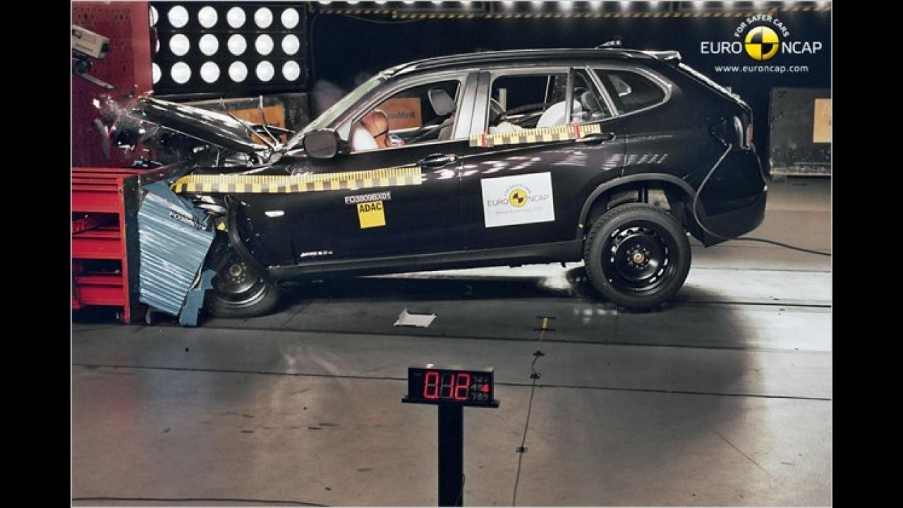 Ebenfalls sehr gut bewertet: BMW X1
