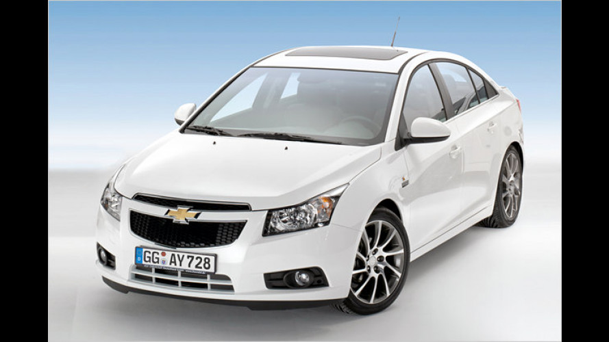 Aveo, Cruze und Captiva: Neue Chevrolet-Sondermodelle