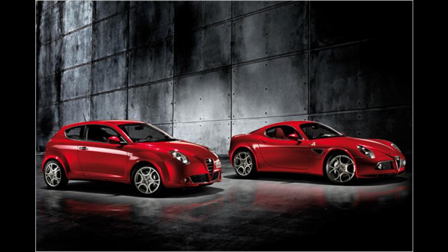 Sonderserie zum 100sten: Alfa Romeo MiTo Junior