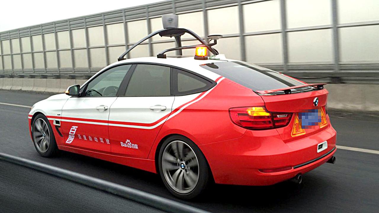 Baidu's BMW-based autonomous concept