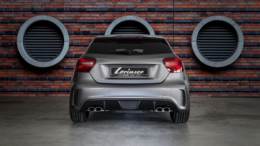 Lorinser spices up Mercedes A Class facelift