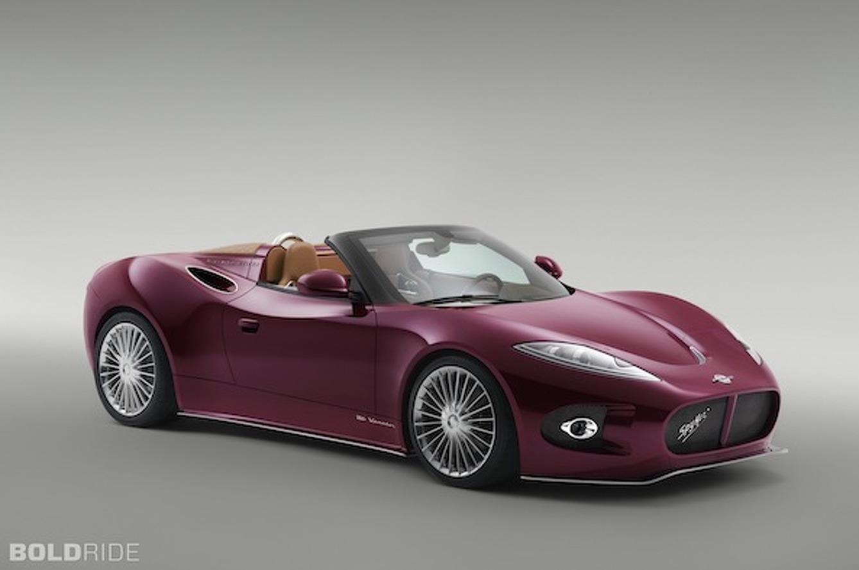 Pretty in Purple: Spyker B6 Venator Drops its Top at Pebble Beach