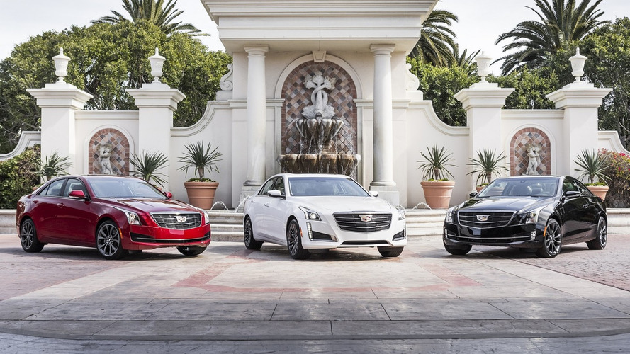 Cadillac adds Black Chrome appearance bits to ATS, CTS