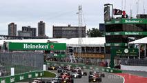 2016 Canadian GP race start