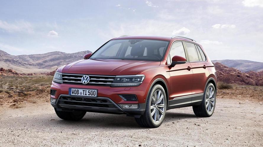 2016 Volkswagen Tiguan officially revealed