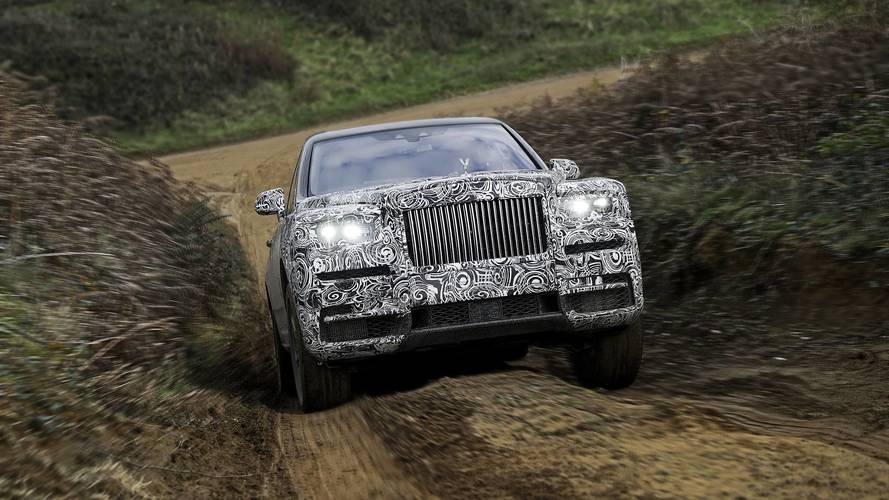 Rolls-Royce confirma nome Cullinan para o