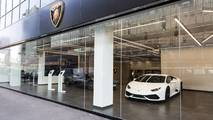 Lamborghini, Paris, Concession, Showroom