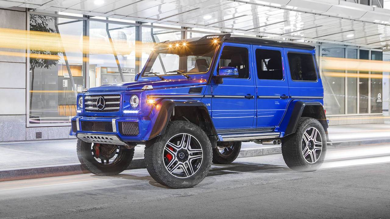 2017 mercedes benz g550 4x4 squared review photos. Black Bedroom Furniture Sets. Home Design Ideas