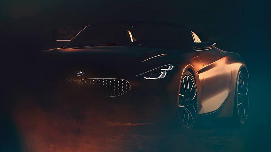 BMW, nuovo teaser della roadster prima del debutto