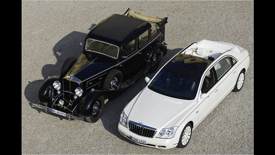 Back to the roots: Maybach zeigt Landaulet-Studie vom 62 S