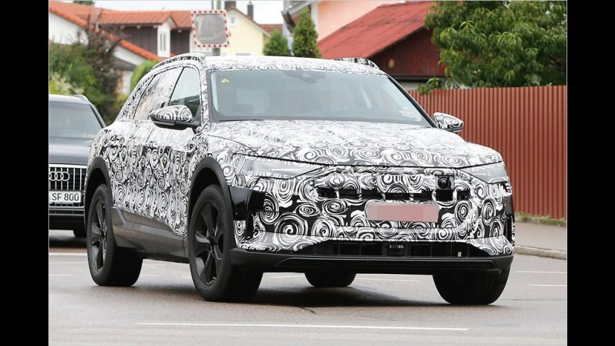 Erwischt: Das Elektro-SUV von Audi