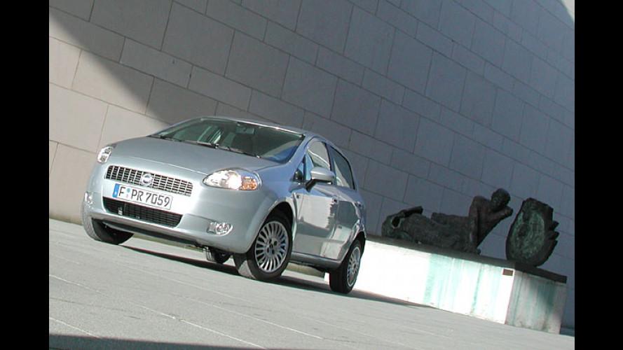 Die große Kleinwagen-Diva: Fiat Grande Punto 1.4 8V im Test