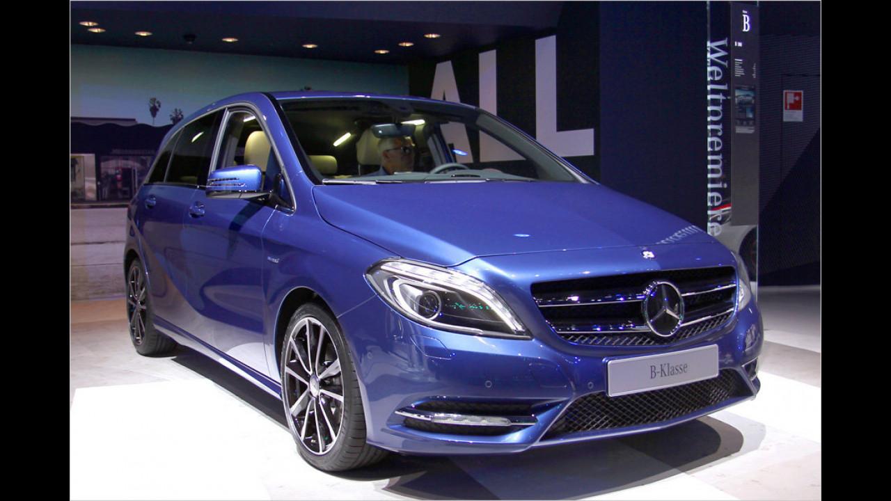 Der neue Mercedes B 180