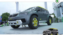 Skoda Yeti Xtreme concept at Wörthersee