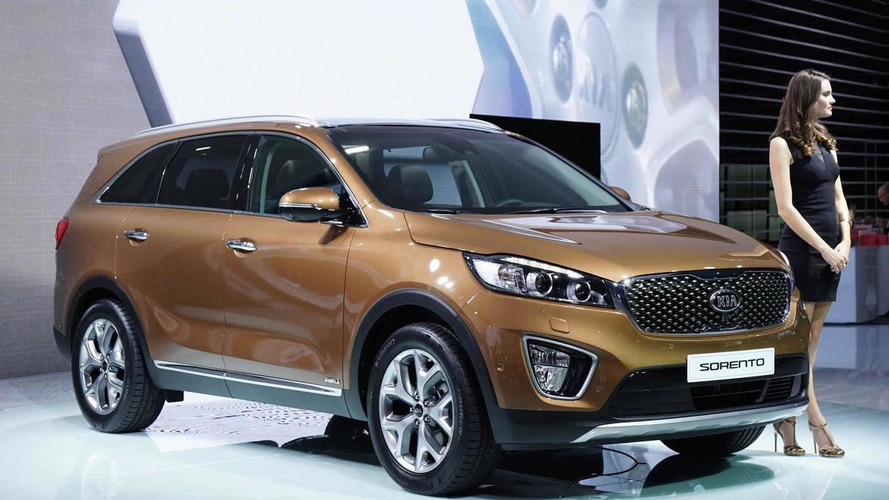 Kia brings 2015 Euro-spec Sorento to Paris Motor Show