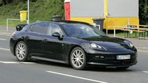 Porsche Panamera with Less Camouflage