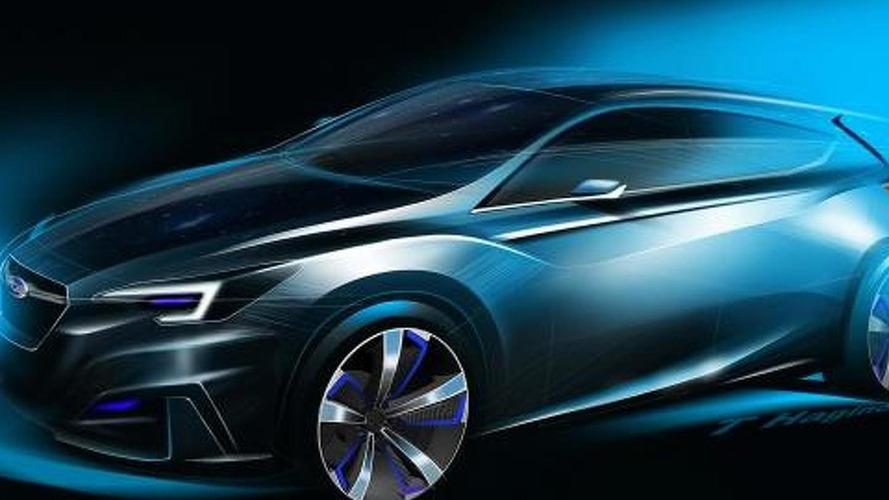 Subaru Impreza 5-Door Concept bows in Tokyo