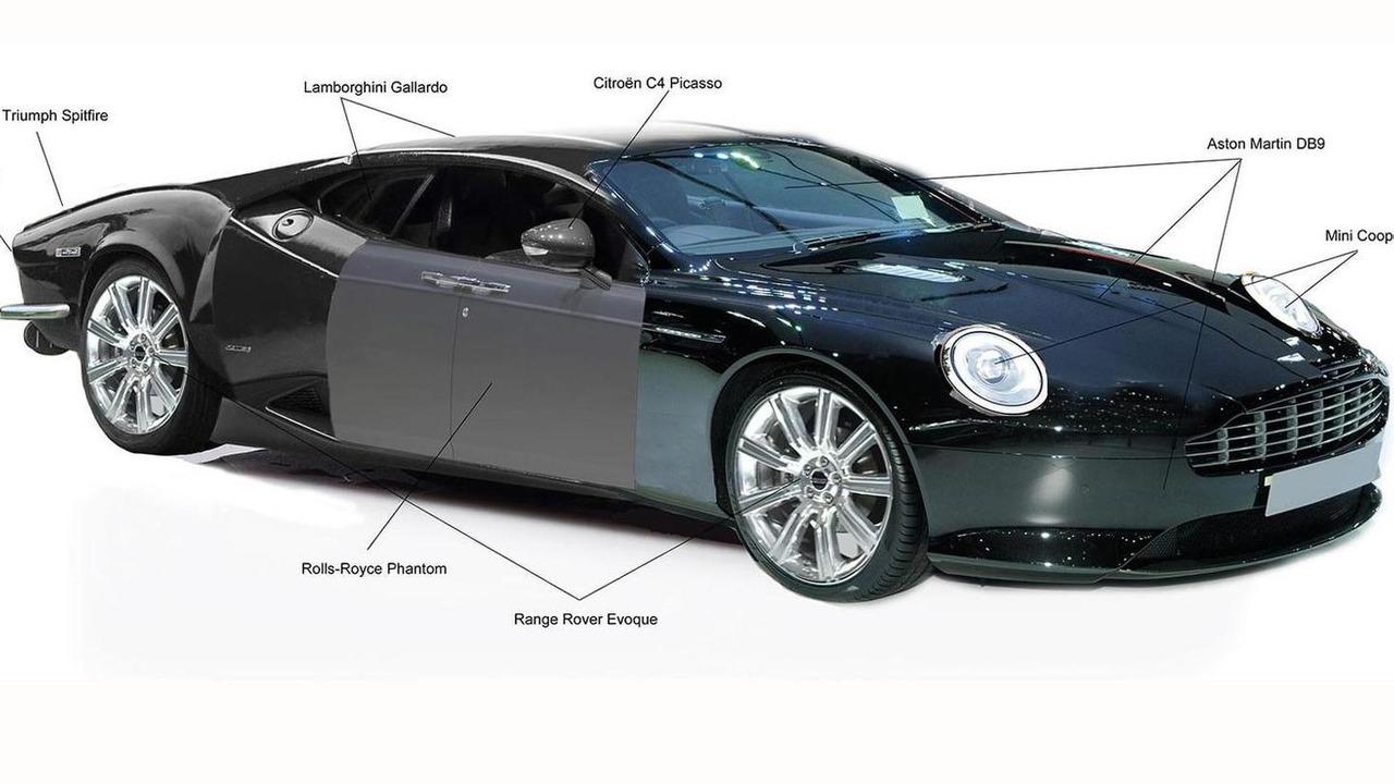 Mashup of favorite car body parts in UK