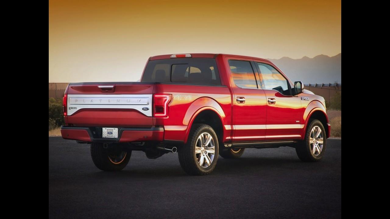 De olho na concorrência, Ford cogita motor diesel para nova F-150 nos EUA