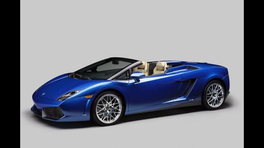 Salão de Los Angeles: Lamborghini Gallardo LP550-2 Spyder é revelada oficialmente