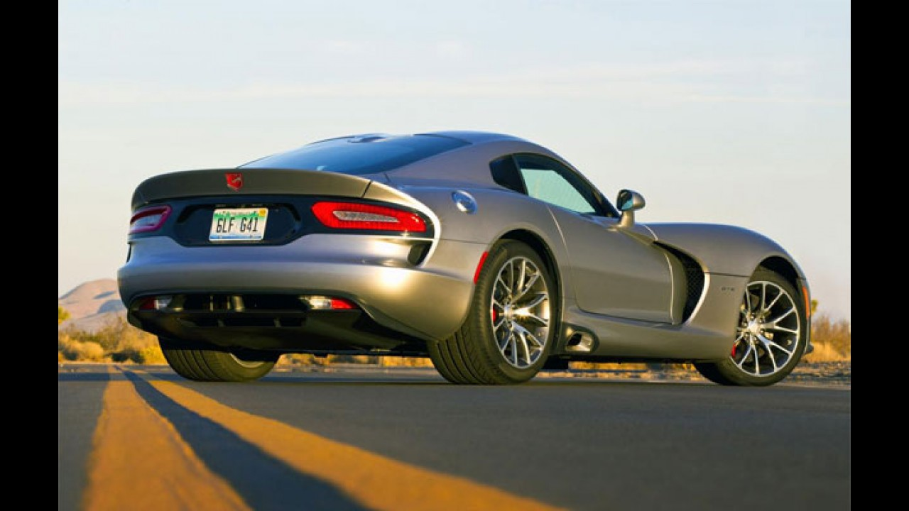 Dodge promete retomar produção do Viper em meados de novembro