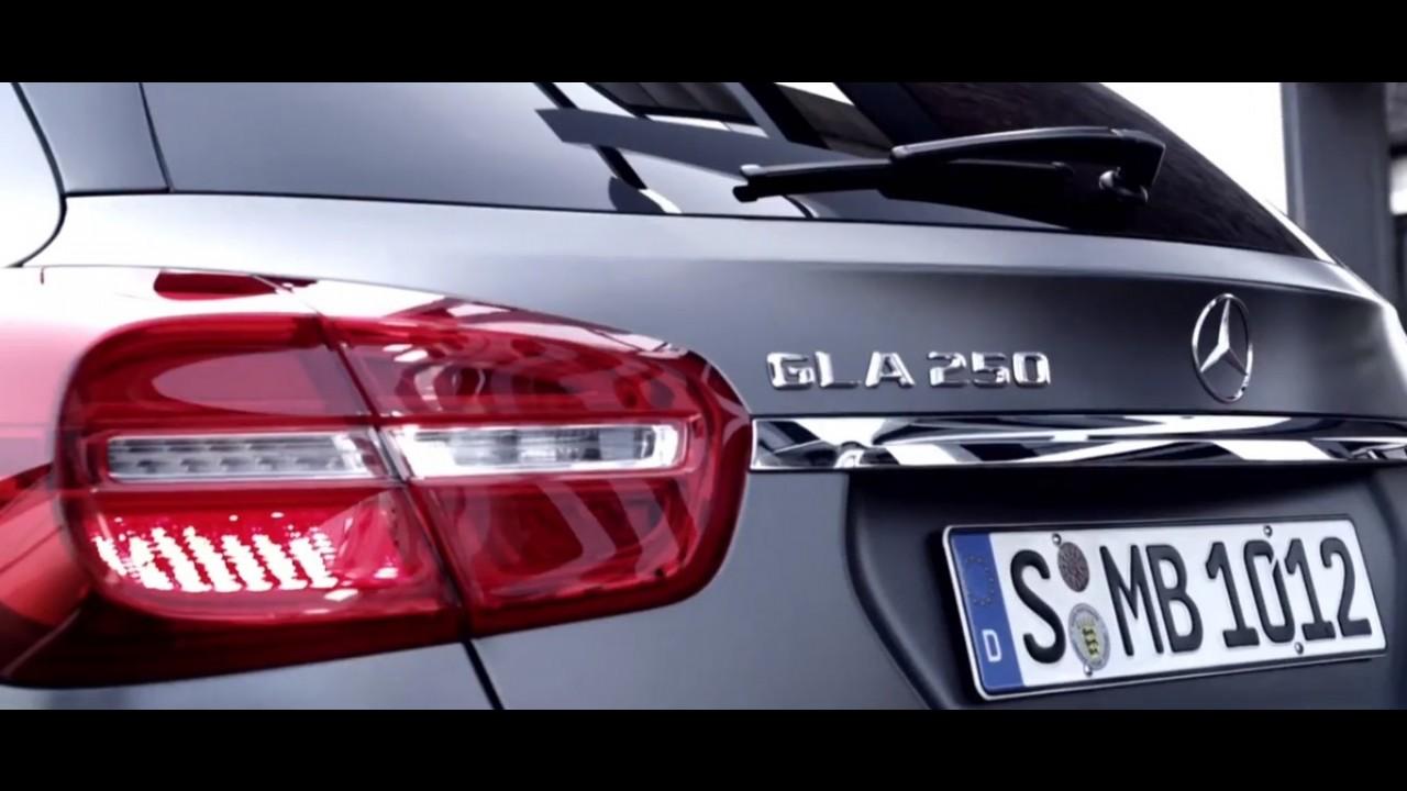 Mercedes-Benz divulga vídeo teaser do novo GLA