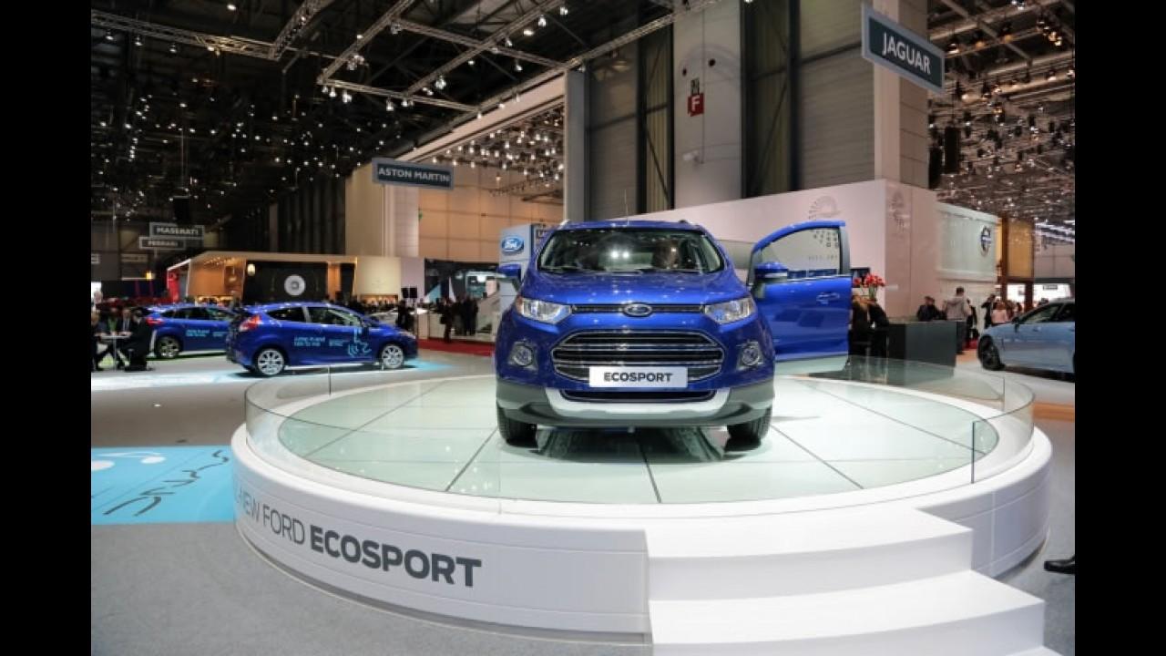 Salão de Genebra: Novo EcoSport tem motor 1.0 EcoBoost