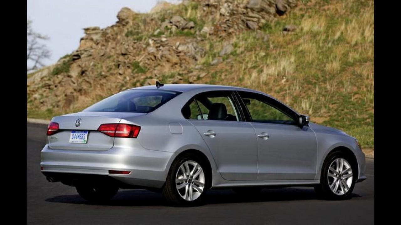 Volkswagen Jetta 2015 ganha um tapa no visual e fica com a cara do Passat