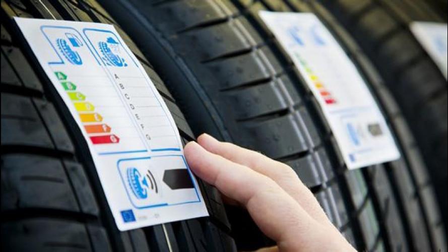 Etichetta pneumatici: come si legge