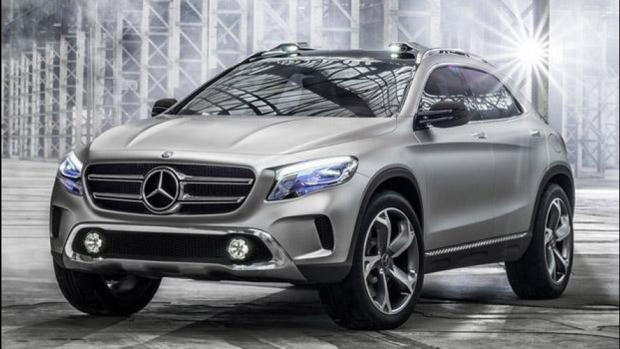 Mercedes GLA Concept: le prime foto