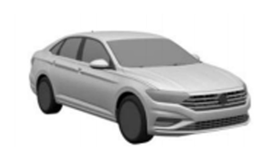 Novo VW Jetta já aparece em registro industrial brasileiro