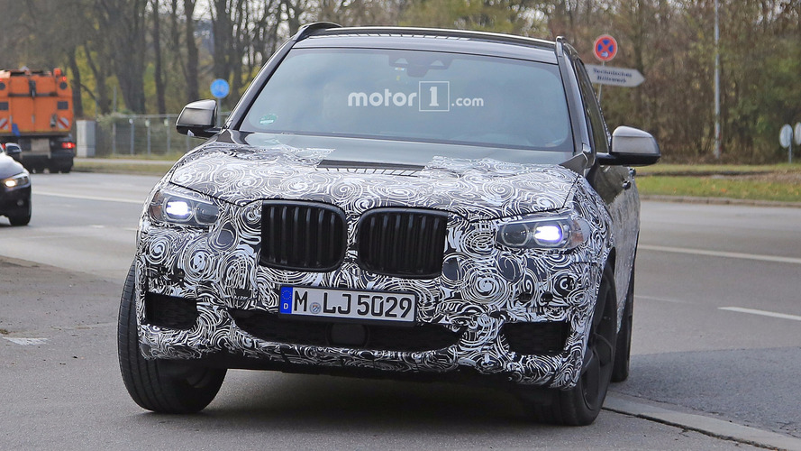 Photos espion BMW X3 2018