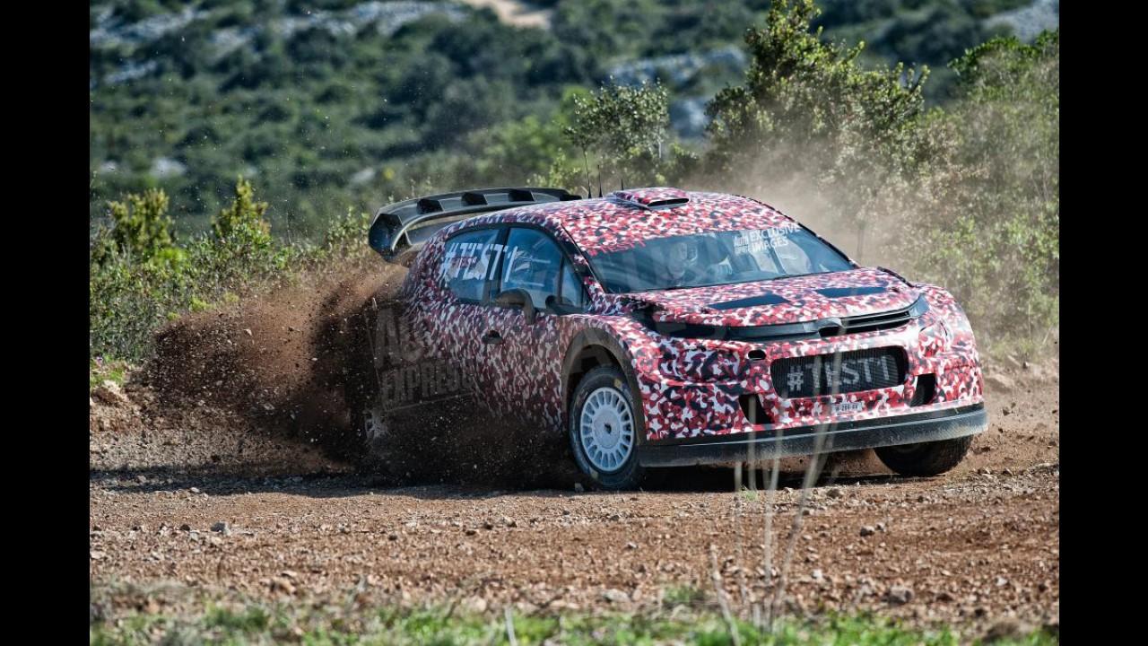 Surpresa! Citroën antecipa nova geração do C3 como carro de rali