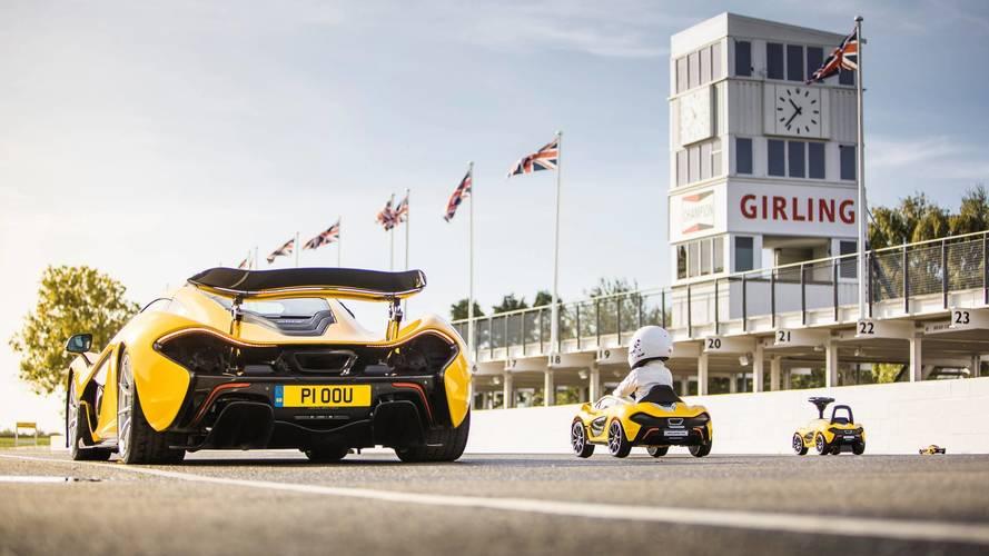 McLaren P1 colección de juguete