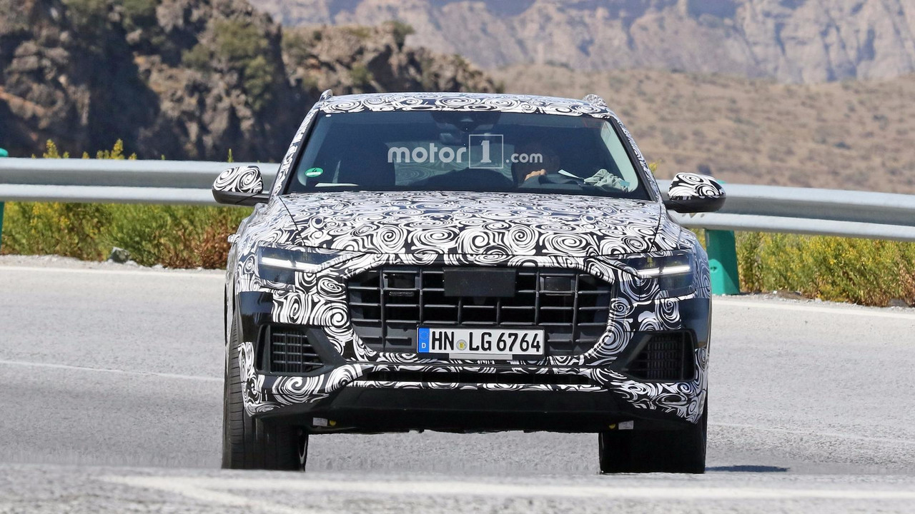 Attrayant 2019 Audi Q8 New Spy Images Including Interior