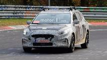 2019 Ford Focus Wagon Spy Photos