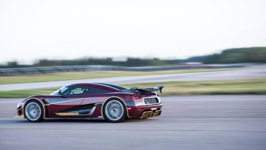 Koenigsegg améliore son record du 0-400-0 km/h, Bugatti appréciera