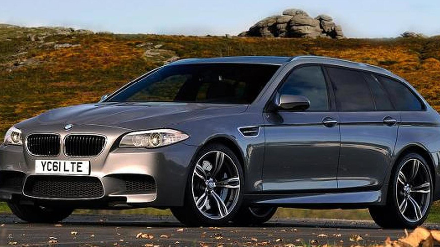 2014 BMW M5 Touring rendered