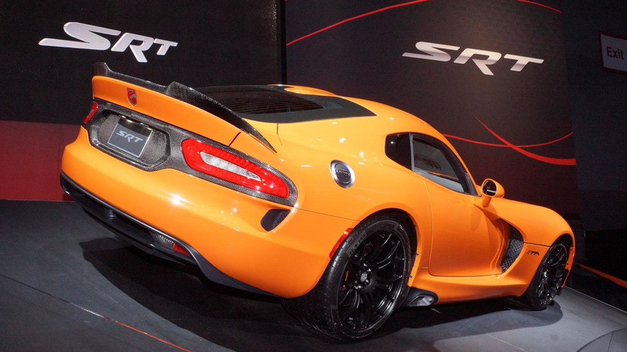 2014 SRT Viper TA debuts in New York