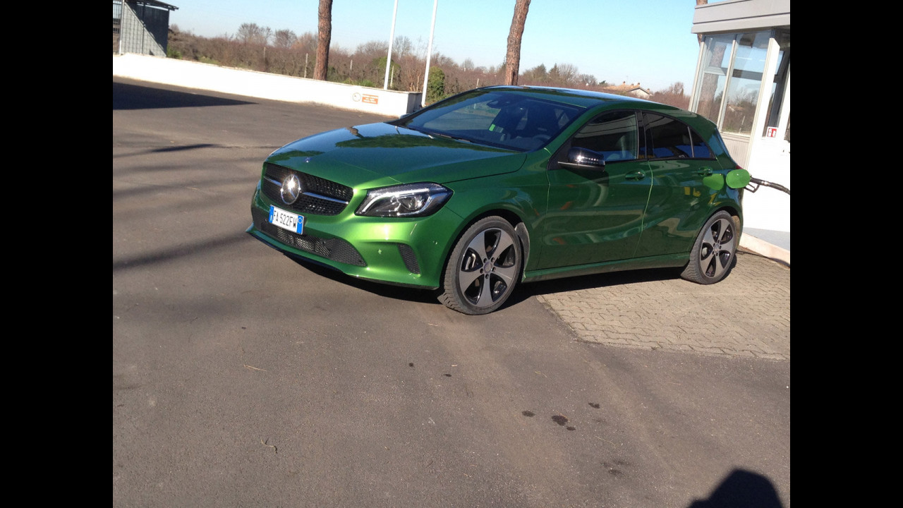 Mercedes A 180 d, test di consumo reale Roma-Forlì