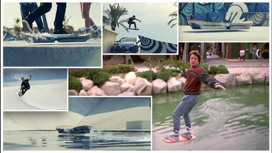 Lexus Hoverboard, vola il sogno di Marty McFly