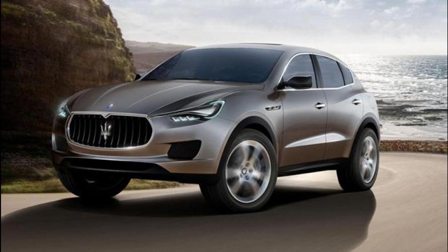 Maserati punta sul SUV Levante per risollevare le vendite