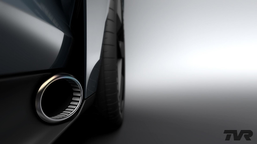322-km/h TVR Shows Side Exhaust Ahead Of September 8 Debut
