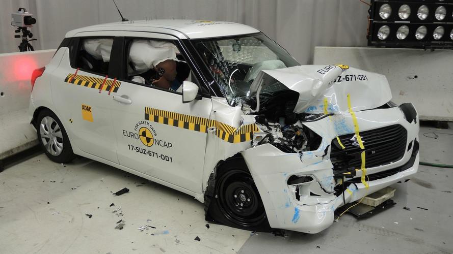 Three-Star Safety Rating For 2017 Suzuki Swift